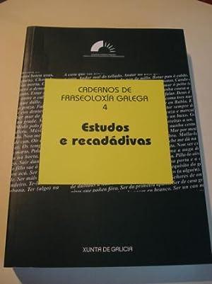 Cadernos de fraseoloxía galega. Nº 4: Estudos: Varios autores