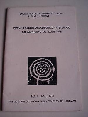 Breve estudo xeográfico-histórico do municipio de Lousame.: Anónimo Ilustrado en