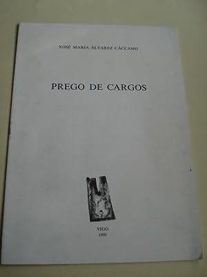 Prego de cargos: Álvarez Cáccamo, Xosé
