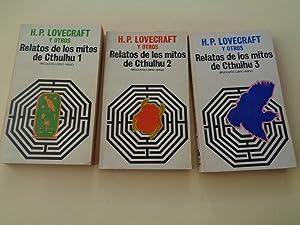 Relatos de los mitos de Cthulhu. Volúmenes: Lovecraft, H. P.