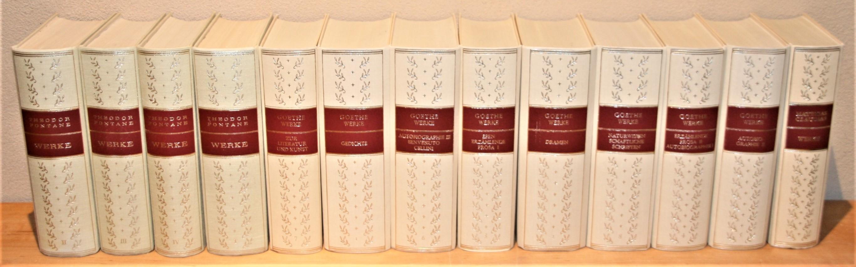 """13 Bände """"Die Tempel-Klassiker"""". Sämtliche Werke. Johann: Goethe, Johann Wolfgang,"""