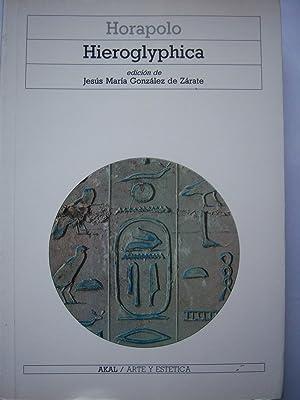 Hieroglyphica: Horapolo