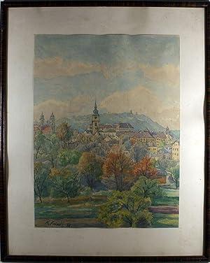 Herbstmorgen - Ausblick aus meinem Fenster: Linz a. D.
