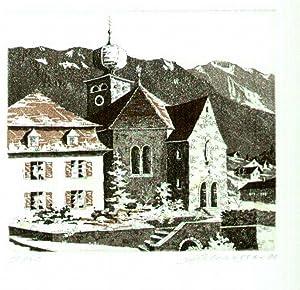 Pfarrkirche Triesenberg]: Liechtenstein - Triesenberg