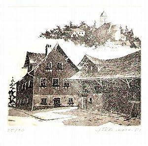Mauren-Dorf und Pfarrkirche): Liechtenstein - Mauren