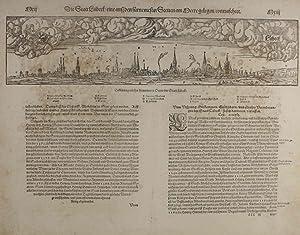 Die Statt Lübeck / eine auß den fürnemesten Stetten am Meere gelegen/ ...