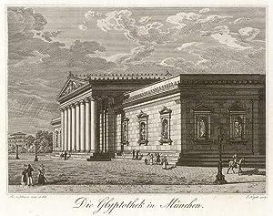 Die Glyptothek in München.: München -