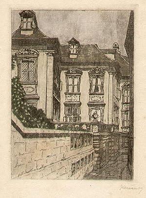 Originalgraphik von Klecatsky.: Bamberg -