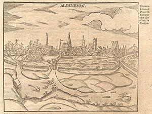 Abcontrafehtung & Statt Aldenburg / oder Olsdeburg in Sachsen. (falsch bez. mit Aldenburg)...