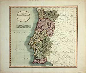 A new Map of the Kindom of Portugal. Divided into its Provinces. From the lateste Authorities.