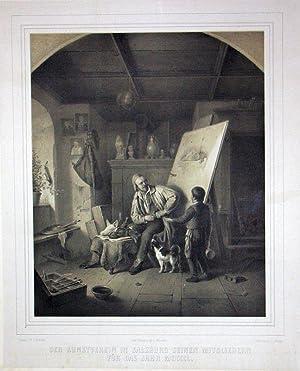 Der Kunstverein in Salzburg seinen Mitgliedern für das Jahr MDCCCL. Gedr. bei Hanfstaengl in M...