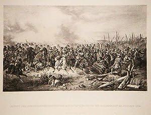 Flucht der schwedischen Regimenter Baudissen und Solms bei Bamberg, den 28. Februar 1632. Eigenthum...