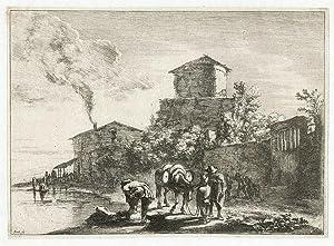 Die Maultiertreiber an der Via Appia ): Both, Jan (1615/18-1652)
