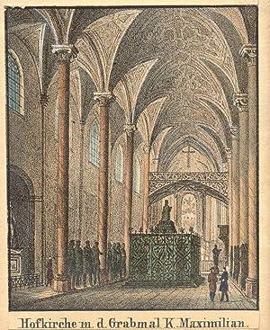 Hofkirche m. d. Grabmal K. Maximilian.: Innsbruck - Schwarzmanderkirche