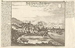 Rovereid oder Roveredo im Tyrol. Eine halbe Tag-Reise von Trento gelegen.: Rovereto