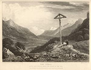 The Tyrol. Above Zerl, looking down the valley of the Inn. London, Published April, 1, 1819, by ...
