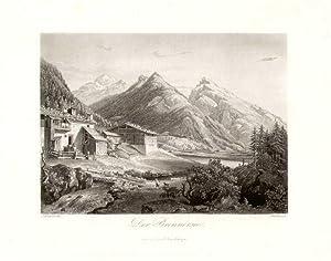 Der Brennersee. Innsbruck bei F. Unterberger.: Brenner