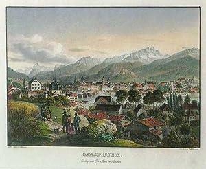 Innspruck. Verlag von Fr. Sauer in München. Gedr. v. I. B. Dreseli.: Innsbruck