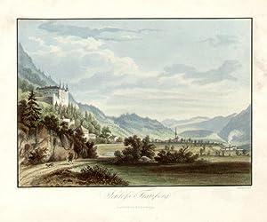 Schloss Tratzberg. Innsbruck, bei F. Unterberger.: Jenbach