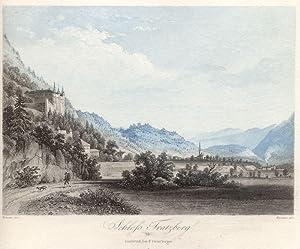 Schloss Tratzberg. # 38 Innsbruck, bei F. Unterberger.: Jenbach
