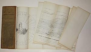Vier Matzen-Panoramen sammt Ortsrose von Matzen etc. Von Ferdinand Gatt, G. Wehr u. A.: Schloss ...