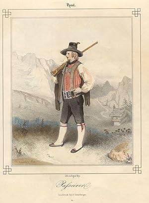 Tyrol. Passeirer. # 11 Innsbruck, bei F. Unterberger.: Passeier