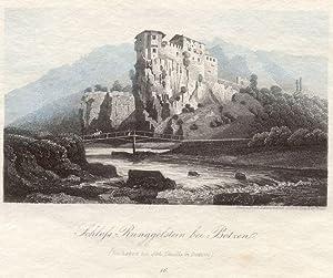 Schloss Runggelstein bei Botzen. # 16 (Zu haben bei Joh. Thuille in Botzen).: Bozen