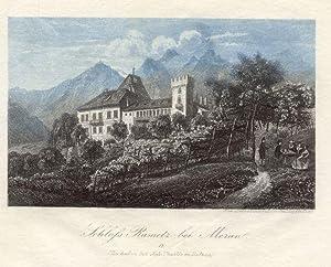 Schloss Rametz bei Meran. # 17 (Zu haben bei Joh. Thuille in Botzen).: Meran