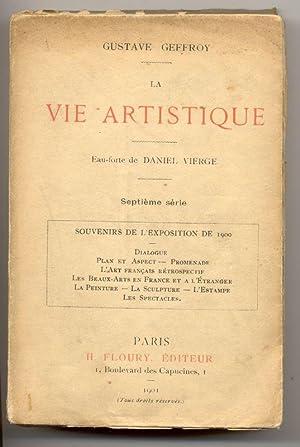 La Vie artistique.: Geffroy, Gustave
