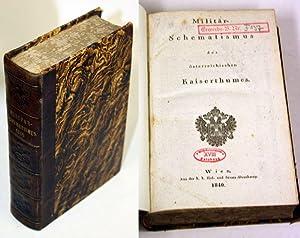 Militär-Schematismus des österreichischen Kaiserthumes.: Schematismus 1840