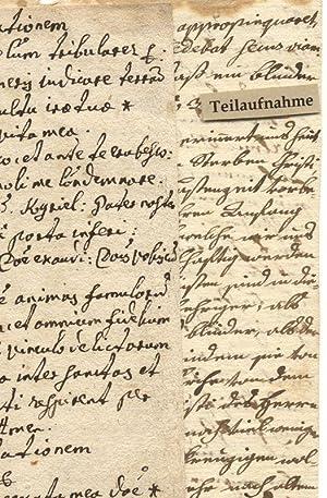 2 Zettel theologischen Inhalts.: Theologie
