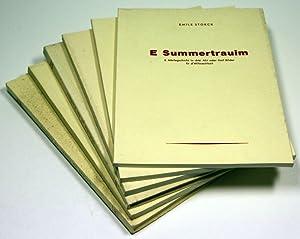 Konvolut bestehend aus 6 Schriften in elsässischer Mundart: E Summertrauim. E Marlegschicht in...