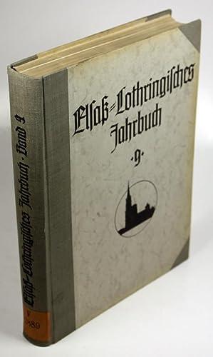 Elsaß-Lothringisches Jahrbuch.: Wissenschaftliches Institut der Elsaß-Lothringer im Reich (Hg...