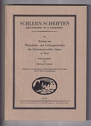 Beiträge zur Geschichte und Heimatkunde Tirols. Festschrift: Klebelsberg, R. v.