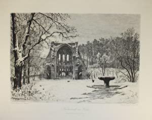 Heisterbach im Winter.: Kloster Heisterbach -