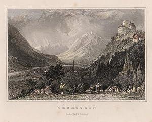 Thurstein. Johanna v. Isser Geb. Grossrubatscher's Skizzen.: Meran - Dorf Tirol