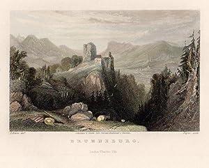 Brunneburg. Johanna v. Isser Geb. Grossrubatscher's Skizzen. - London; Charles Tilt.: ...