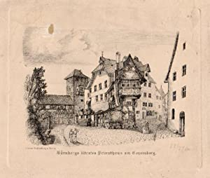 Nürnbergs ältestes Privathaus am Genersberg. No. 3.: Nürnberg -