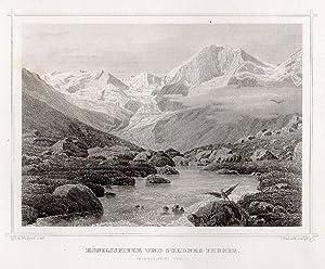 Königsspitze und Suldner-Ferner. im Ortlergebiet (Tyrol): Suldental -