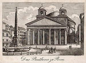 Das Pantheon zu Rom.: Pantheon -