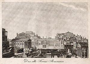 Das alte Forum Romanum.: Rom -