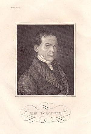 Wilhelm Martin Leberecht de Wette (1780 -: Theologie -