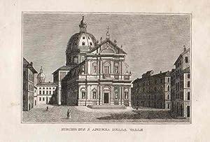Kirche des S. Andrea della Valle.: Rom -