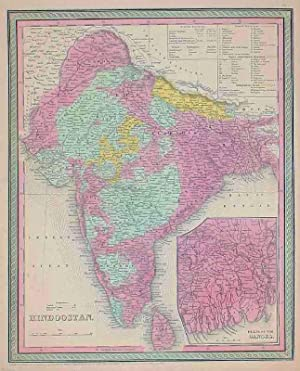 Hindoostan. Entered according to act of Congress, in the year 1850, by Thomas Cowperthwait &Co....