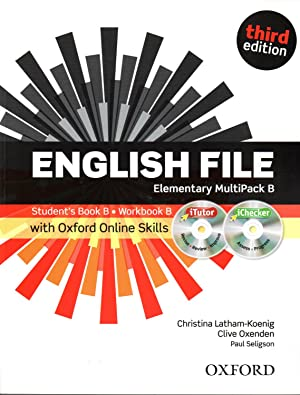 English File: Elementary: Multipack B with Itutor and Online Skills: Christina Latham-Koenig, Clive...