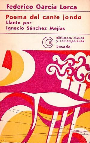 POEMA DEL CANTE JONDO: FEDERICO GARCIA LORCA