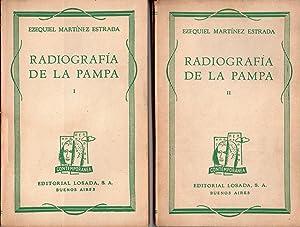 RADIOGRAFIA DE LA PAMPA (2 Tomos): EZEQUIEL MARTINEZ ESTRADA