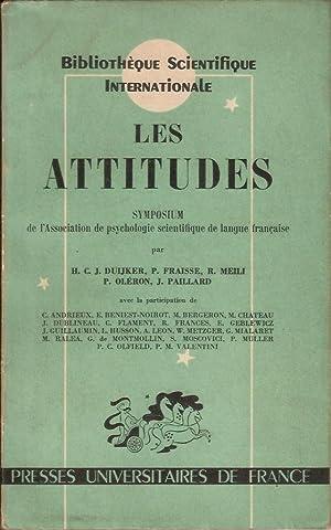 LES ATTITUDES: H.C.J. DUIJKER, P.