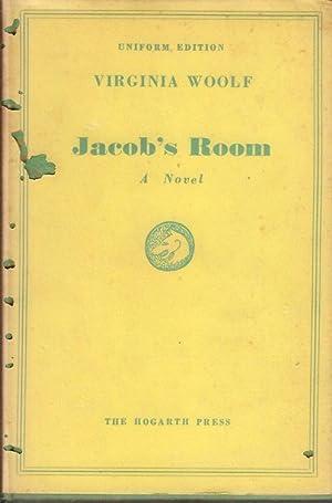 JACOB'S ROOM, A Novel: VIRGINIA WOOLF