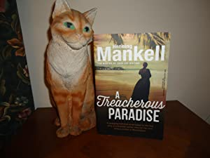 A THREACHEROUS PARADISE+++SIGNED+++A SUPERB UK UNCORRECTED PROOF: HENNING MANKELL (SIGNED)